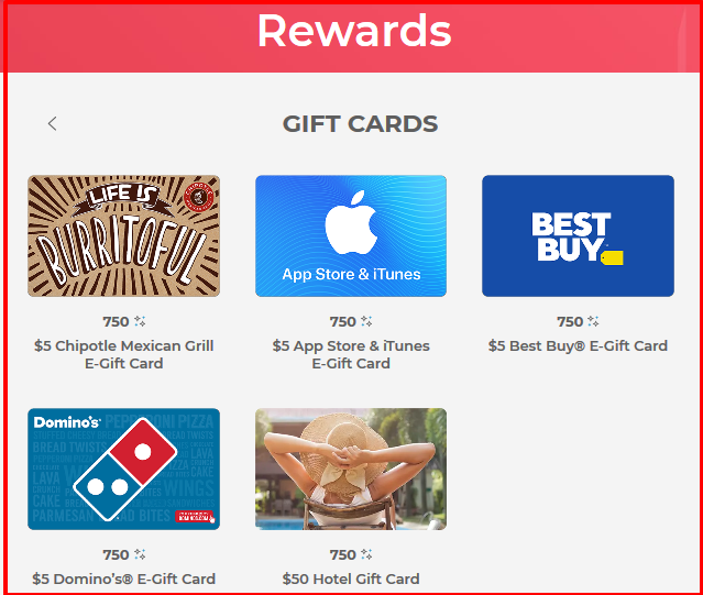p&g everyday gift card