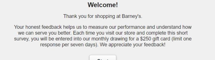 Barneysfeedback