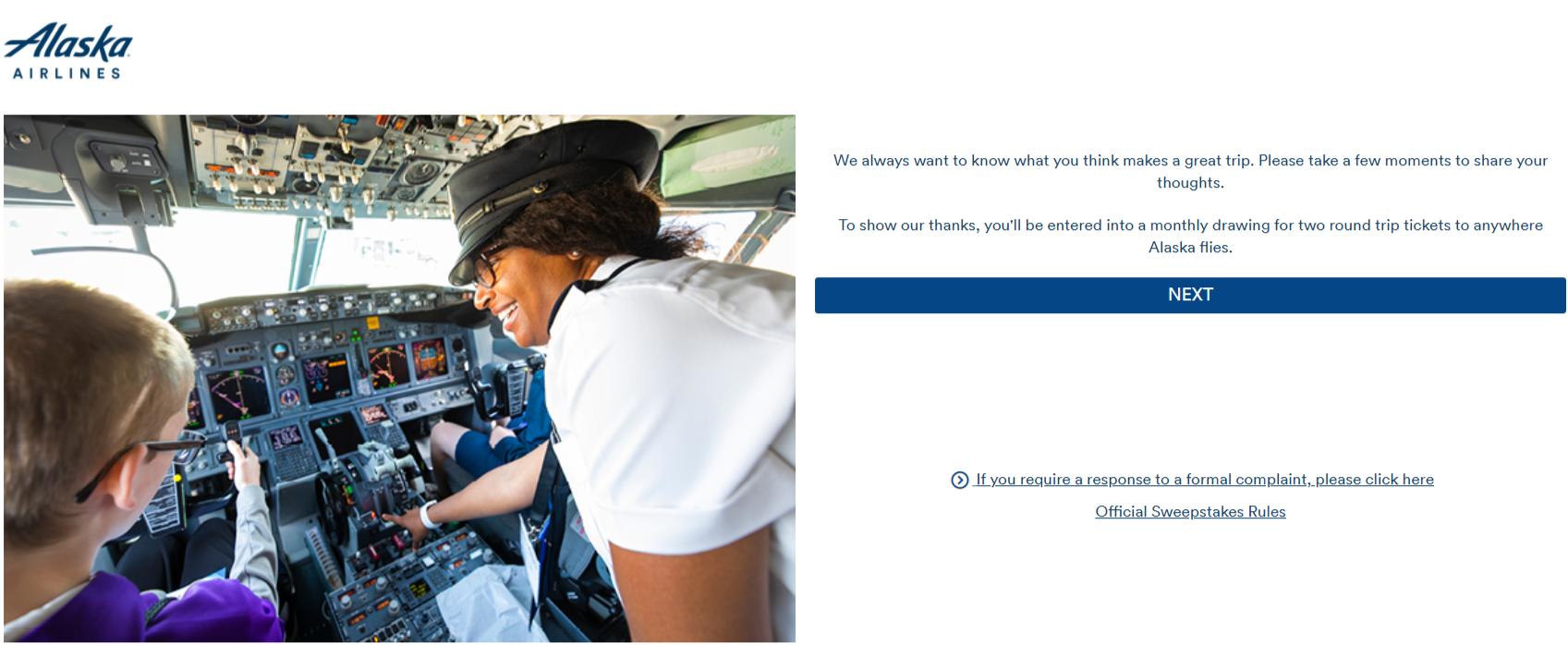 Alaska Airlines Survey