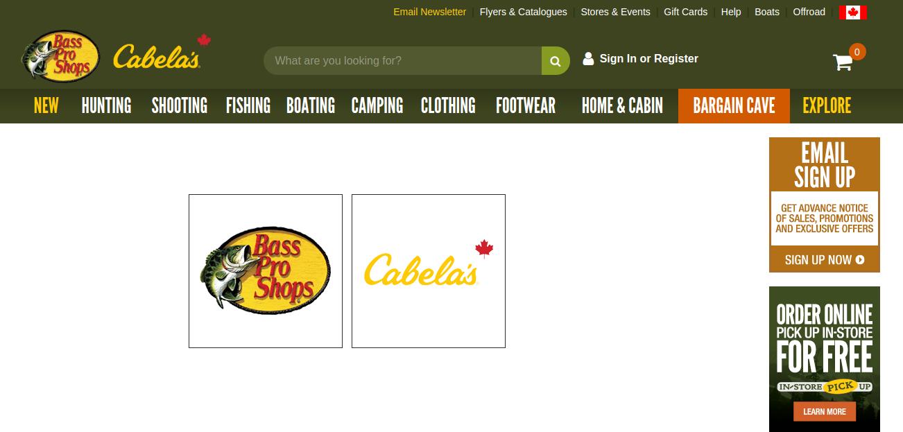 Cabelas Canada Survey