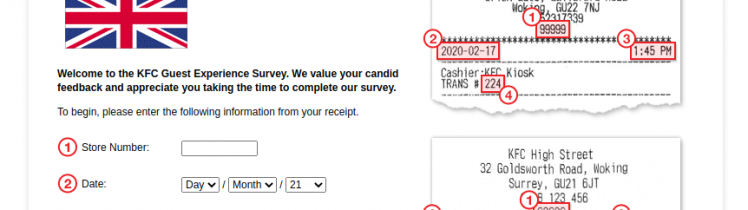 KFC Great Britain Survey Logo