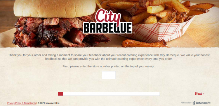 city barbeque survey logo