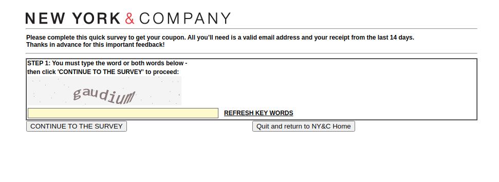 New York Company Voice Survey