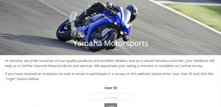 yamaha customer survey logo